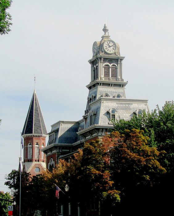 Old Courthouse Tower... On the square - Medina, OH -  Christine B. © 2012