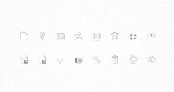 Soft Media Icons Set Vol 1