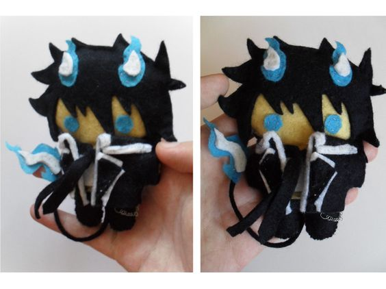 Blue Exorcist Plushie is TOO cute <3