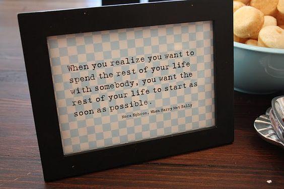 Best quote from...When Harry Met Sally