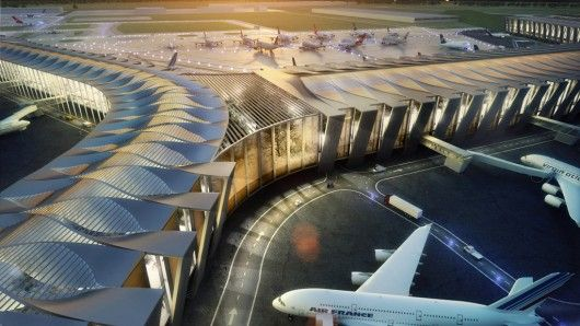 Mexico City International Airport by Sordo Madaleno Arquitectos & Pascall+Watson