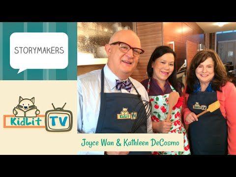 Joyce Wan & Kathleen Decosmo | A Whale of a Cupcake Tale - KidLit.TV