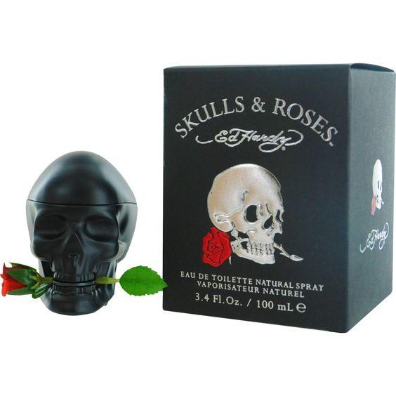 28 Best Skull Perfume Bottles Images On Pinterest: Amazon.com: Skulls And Roses ED Hardy Colognes For Men, 2.5 Ounce: Beauty