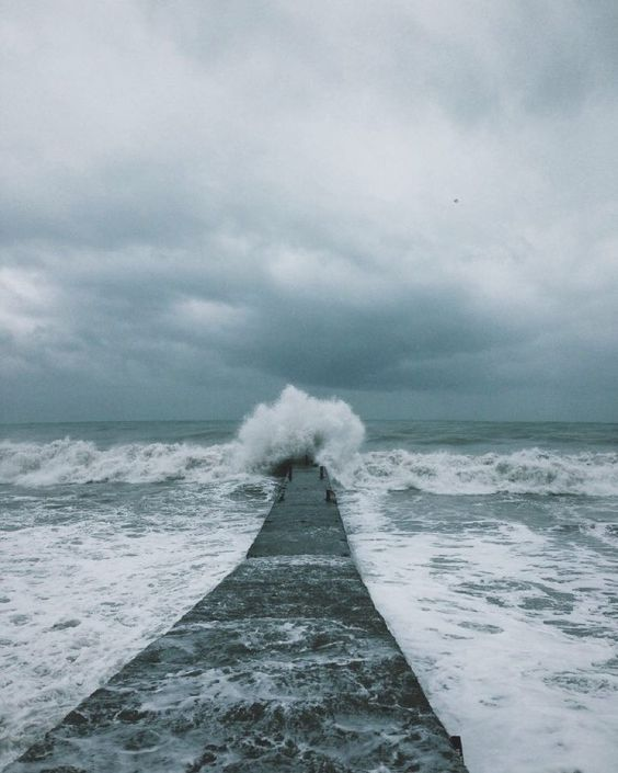 // #ocean #sea #storm #nature | via nikinwall.vsco.co by figandyarrow