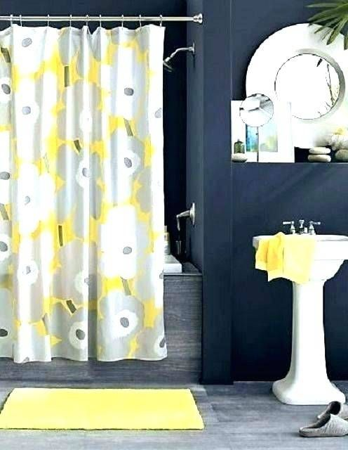 Bathroom Ideas Grey And Black With Images Yellow Bathroom
