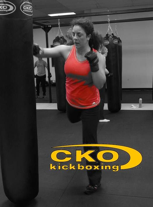 CKO Kickboxing- fitness kickboxing for everyone! From beginners to seasoned vets- everyone gets a great workout!
