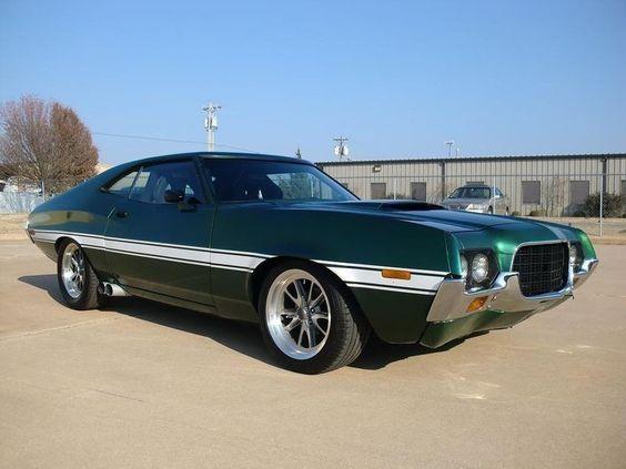 1972 Ford Gran Torino aus \