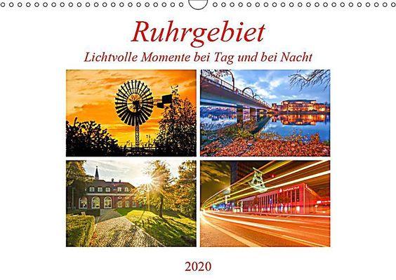 Ruhrgebiet Malerischer Spaziergang Calvendo Ruhrgebiet Wandkalender Kohlenpott