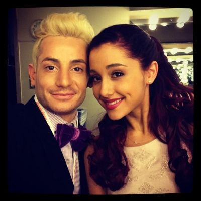 Frankie Grande and Ariana Grande:
