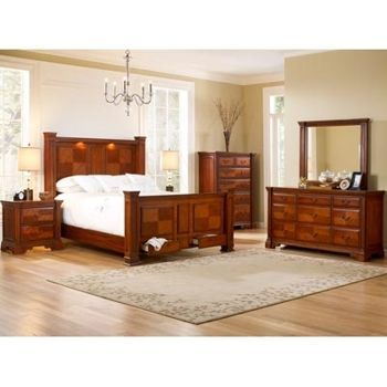 Costco Summerfield 6 Piece Queen Bedroom Set Wish It Were Darker Wood Furniture Pinterest
