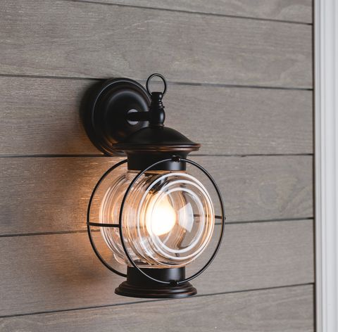 Shop Portfolio Caliburn 13 62 In H Oil Rubbed Bronze Outdoor Wall Light At Lowes Com Outdoor Wall Lighting Wall Lights Outdoor Walls