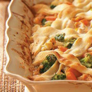 Lattice-Top Chicken Stew