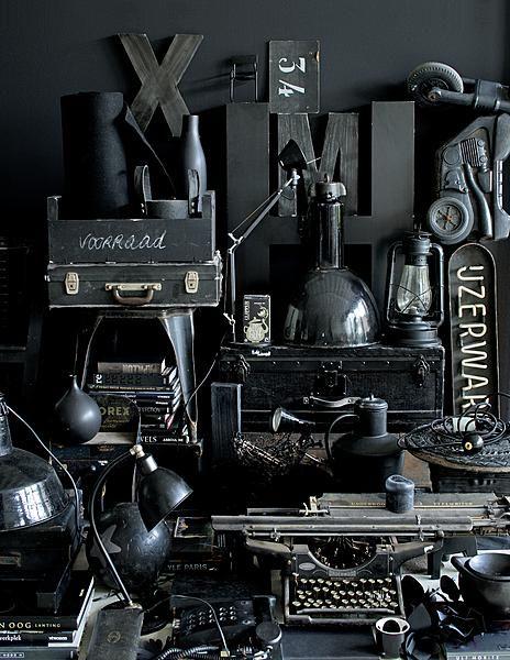 Styling cleo scheulderman vtwonen photo jeroen van der for Industrial punk design