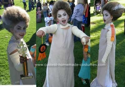 Granddaughters, Homemade and Bride of frankenstein costume ...