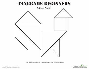 easy tangrams puzzle 9 geometric shapes classic and for kids. Black Bedroom Furniture Sets. Home Design Ideas