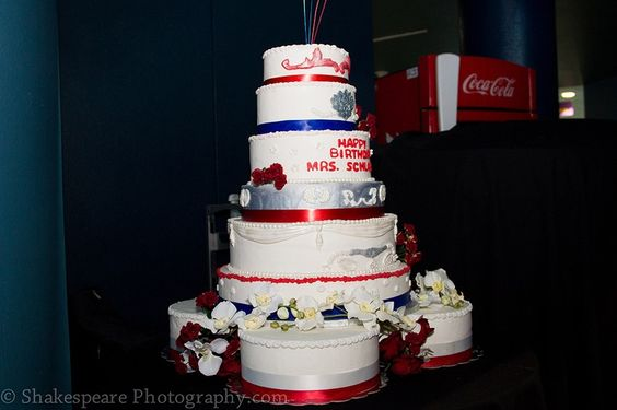 Phyllis Schlafly's 88th birthday cake