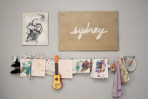 beautiful wall display in the nursery from Shaleah Soliven