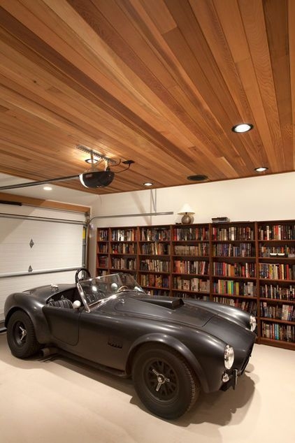 33 Inspiration For Garage Ceiling Ideas Garaje Moderno