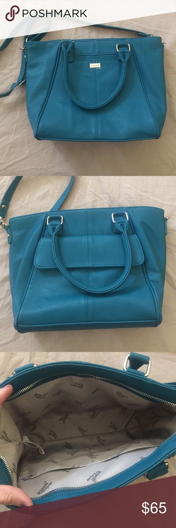 Thirty-One Teal Affair Diamond District Purse See Last Photo Thirty-One Bags