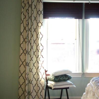 Ballard Design curtain knockoff