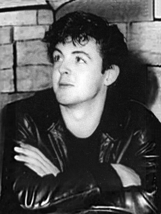 "A young Paul McCartney - before the ""Sir."""