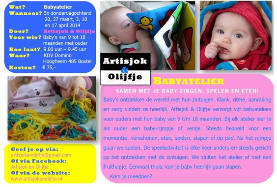 Babyatelier door Artisjok & Olijfje, maart 2014
