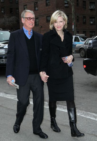 I'm repinning this stylish couple as I send good wishes to Diane Sawyer & RIP to The Great Mike Nichols