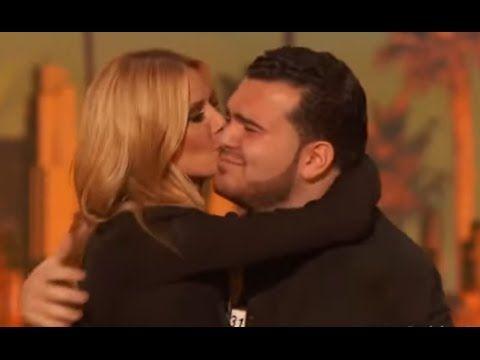 Charming Sal Gets A Kiss From Heidi Youtube America S Got