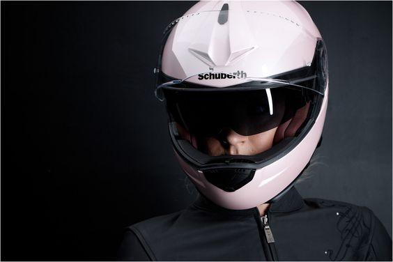 Casco modular schuberth c3 pro women color rosa perlado for Disenos de motos