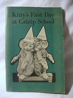 1932 Harry Whittier FreeS Kitty's First Day at Catnip School | eBay