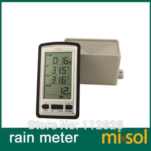 Indoor Outdoor LCD Display Digital Thermometer Hygrometer Weather ...