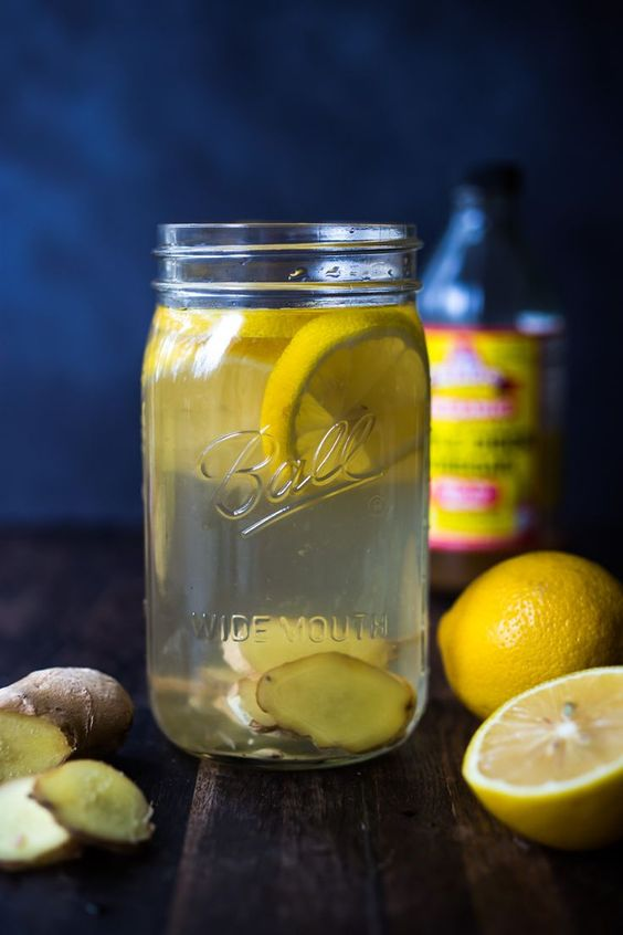 Lemon And Ginger Detox Drink
