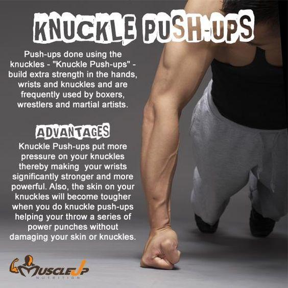 Fist push ups