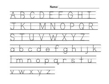 Worksheet Trace Uppercase Alphabet free alphabet tracing uppercase lowercase preschool freebies lowercase