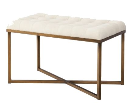 Threshold Tufted Bench I Target $99