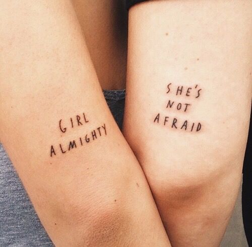 If you're a feminist and proud of it, then check out these badass girl tattoos!