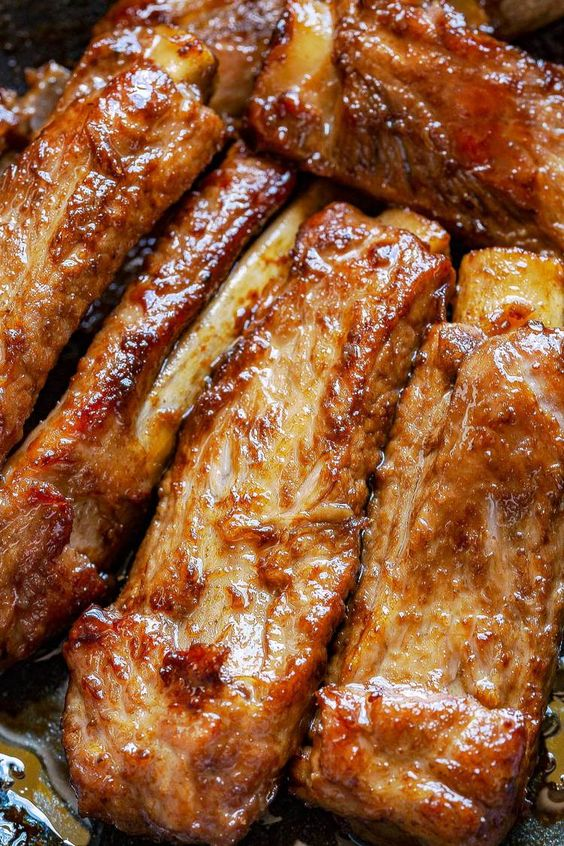 Finger Licking Sweet and Sour Pork Ribs
