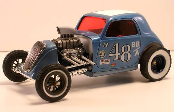 Double Parachute Race Car Kit : Bb a fiat altered from amt double dragster kit model