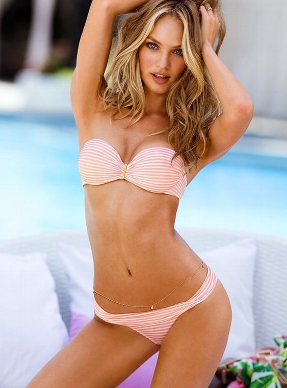 Love the blended blonde hair. Victorias-Secret-Swim-2013-Catalogue-35