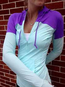 Lululemon Addict: Runbeam Hoodie  I think I'm addicted to their running clothes.