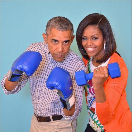 POTUS 44 & Michelle Obama