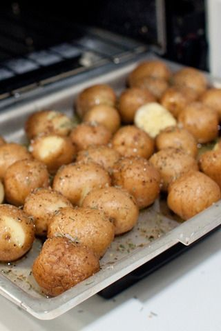 Toaster Oven Roasted Potatoes