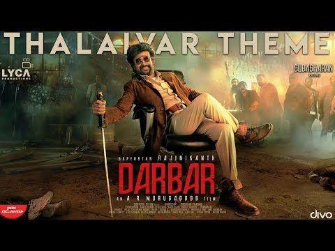 Anirudh Ravichander Darbar Rajnikant S Movie Thalaivar Theme Instrumental From Darbar Tamil Rajn In 2020 Motion Poster Bollywood Movie Songs Anirudh Ravichander
