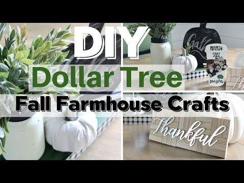Fall Dollar Tree Crafts 2019 Youtube Dollar Tree Decor