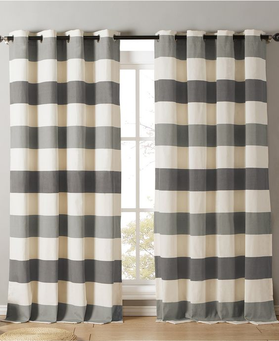 Curtains Ideas 54 curtain panels : Kensie Home Iouri Cotton Blend Pair of 54'' x 84 Curtain Panels ...