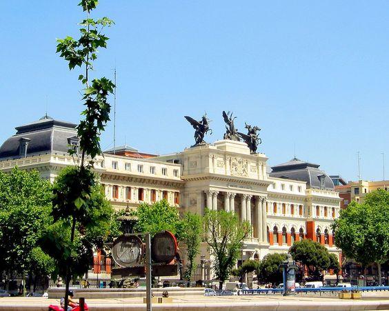 Edificio del Ministerio de Agricultura, Madrid España