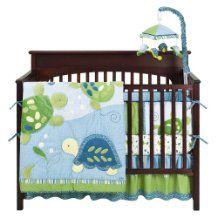 baby boy nursery bedding-sea turtles