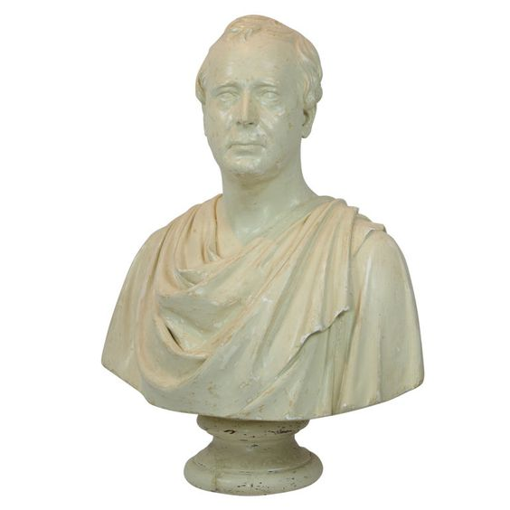 Classical plaster bust 19th c