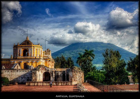 Volcan de Agua Antigua Guatemala: