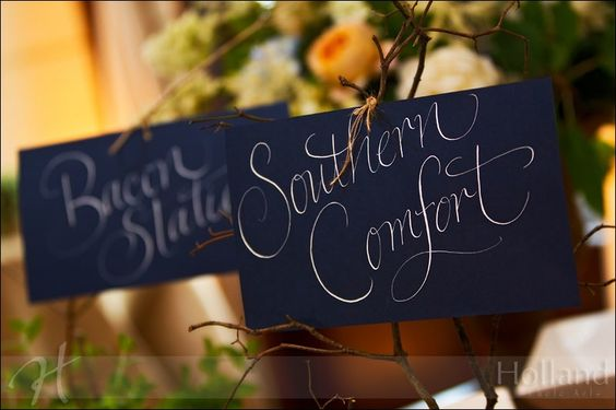 calligraphy signage and more white ink signage handwriting calligraphy ...